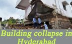 Hyderabad building collapse: One dead