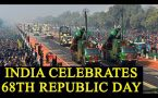 Republic Day celebrations take place at Rajpath, PM Modi pays tribute at India Gate