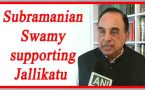 Subramanian Swamy supporting Jallikatu, says Why not ban halal meat