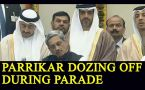 Manohar Parrikar dozing off during Parade, Twitter slams the minister