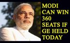 Modi led NDA can win 360 seats if General Elections held today: Survey