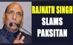 Rajnath Singh slams Pakistan for smuggling drugs in Punjab, Watch Video