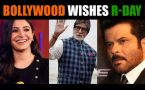 68th Republic Day : Bollywood celebs wish fans