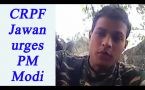 CRPF Jawan shares video on lack of amenities; Watch Video