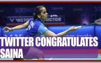 Saina Nehwal clinches Malaysia Masters, Here is how twitter congratulates