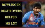 Jaspreet Bumrah says bowling in Deathovers gave me confidence