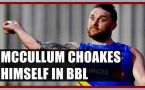 Brendon McCullum choakes himself in the Big Bash League, Know How