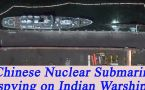 Chinese Submarine in Karachi, may be spying on India's Warships