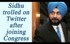 Navjot Singh Sidhu joins Congress, here's how Twitterati reacts