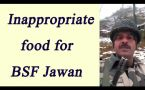 BSF jawan alleges bad quality food , Raj Nath singh seeks report
