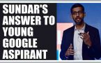 Sundar Pichai replies to 7 year old Google aspirant