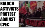 Baloch people protest against CPEC outside Chinese embassy in London : Watch video
