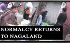 Nagaland Women quota stir: Normalcy returns:Watch video