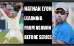 India vs Australia: Nathan Lyon learns from R Ashwin ahead of Test series