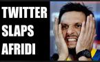 Shahid Afridi wants peace in Kashmir: Twitter slams in hilarious way