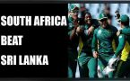 South Africa beat Sri Lanka by 40 runs, clinch  series by 40