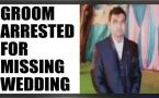Gurgaon Groom booked for dowry after he misses wedding : Watch video