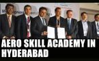 Telangana govt signs MoU to set up Aero Skill Academy : Watch video