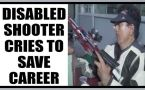 Disabled shooter cries for financial help, writes to Gujarat govermnet