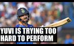 Yuvraj Singh is trying to hard in T20 format says Sourav Ganguly