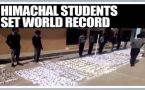 Himachal students set world in flying paper planes  : Watch video