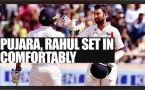 India vs Australia 4th test match : KL Rahul, Pujara help hosts cruise on 2nd day till lunch