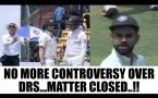 BCCI, CA reslove DRS controversy, India take back complaint