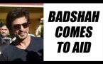 Shahrukh Khan's car injures photographer, Badshah comes to aid