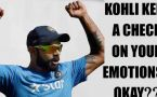 Virat Kohli should keep his onfield emotions in check, thinks Ian Chappel