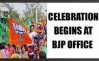 UP Assembly results 2017: BJP towards clear majority, celebration begins : Watch video