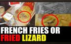 Kolkata : Dead lizard found in Mc'Donald's french fries