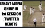 India vs Australia 3rd Test : Host gives tough fight in first session; Twitter reacts
