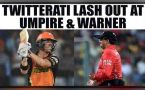 IPL 10:  David Warner creates new controversy in cricket; Twitterati lash out