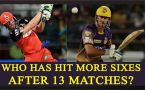 IPL 10 : AB de Villiers or Chris Lynn; Know who has hit more sixes after 13 matches