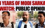 PM Narendra Modi completes 3 years in office, watch PUBLIC OPINION