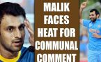 ICC Champions Trophy : Shoaib Malik trolled for communal comment on Moh. Shami