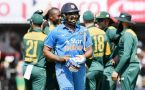 ICC Champions Trophy : India lost wicket, Rohit Sharma goes for 12