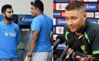 ICC Champions trophy: Clarke's reaction comes on Virat Kumble rift