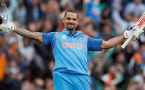 ICC Champions Trophy : Shikhar Dhawan hits another 50, India cruising to win