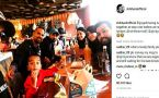 ICC Champions trophy : Shikhar Dhawan enjoys lunch with teammates ahead of Ind vs Pak final clash