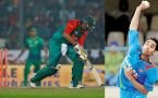 ICC Champions Trophy : India strikes first, Soumya Sarkar goes for duck