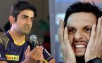 ICC champions trophy 2017: Gautam Gambhir slams Shahid Afridi for comment on Indian