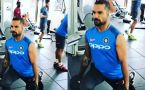 India vs West Indies : Shikhar Dhawan works out in Gym, watch video