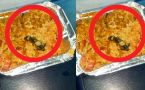 Fried Lizard in Indian Railways food, passenger fall sick