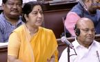 India-China issues highlighted by  External Affairs Minister Sushma Swaraj