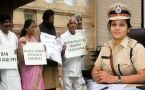 Karnataka BJP Protest outside parliament over D Roopa's transfer