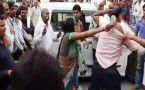 Women beat retired army officer with slippers in UP