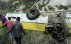 Himachal Pradesh : Bus carrying 40 people falls into gorge in Rampur, 28 lose life