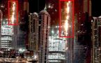 Dubai : Fire engulf world's tallest residential tower, no report of loss to life