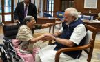 PM Modi celebrates Raksha Bandhan with 103 year old woman
